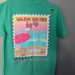 Simply southern warm waves T-shirt S